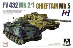 1/72 FV432 Mk.2/1 + チーフテン Mk.5