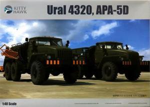 1/48 ウラル 4320トラック & APA-5D航空電源車 2台セット