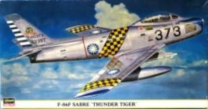 """1/48 F-86F セイバー """"サンダー タイガー"""""""