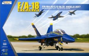 1/48 F/A-18A/B/C/D ホーネット 「ブルーエンジェルス 2017年」