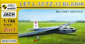 1/144 L-13 ブラニック グライダー 「軍用機」 (2キット入)