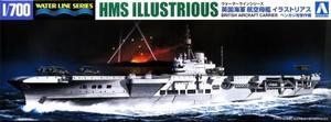 1/700 英国海軍 航空母艦 イラストリアス ベンガジ攻撃作戦
