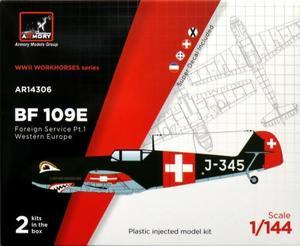 1/144 メッサーシュミット Bf109E 「海外エースパイロット」 パート1