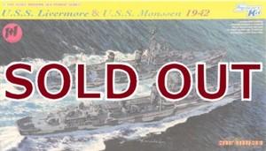 1/700 米海軍 グリーブス級駆逐艦 U.S.S リヴァモア&U.S.S モンセン 1942