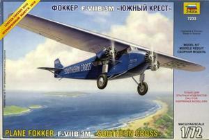 1/72 フォッカー F-VII B-3M サザンクロス