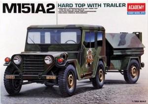 1/35 M151A2 ハードトップ ユーティリティビークル トレーラー付き