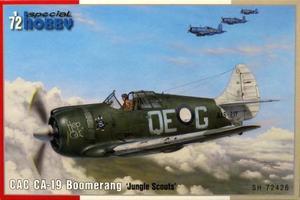 1/72 CAC CA-19 ブーメラン 「ジャングル・スカウト」