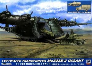 1/144 ドイツ空軍 輸送機 Me323E-2 ギガント Sd.Kfz.251兵員輸送車&軍用トラ