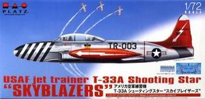 1/72 アメリカ空軍練習機 T-33A シューティングスター `スカイブレイザーズ`