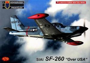 1/72 SIAI SF-260D 「アメリカ上空」