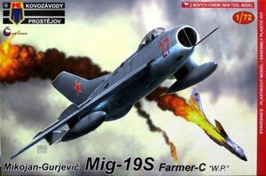 1/72 MiG-19S ファーマーC 「ワルシャワ条約加盟国」
