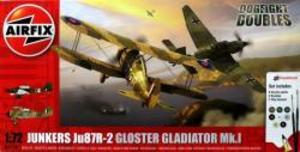 1/72 ドッグファイトセット Ju87 R-2&グラディエイターMk.I
