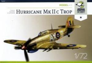 1/72 英・ホーカー・ハリケーン Mk.IIC戦闘機・熱帯型