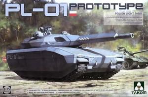 1/35 ポーランド軍 PL-01 試作軽戦車 「ステルスタンク」