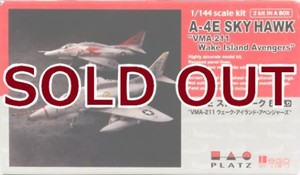 "1/144 A-4E スカイホーク""VMA-211 ウェーク・アイランド・アベンジャーズ ""(2機セ"