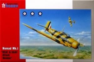 1/72 ノースロップ A17 ノーマッド Mk.I 攻撃/訓練機・英空軍