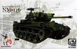 1/35 ノルウェー陸軍 NM-116軽戦車