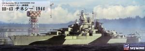 1/700 アメリカ海軍 戦艦 BB-43 テネシー 1944