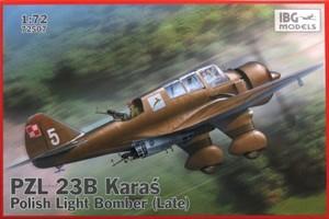 1/72 ポーランド単発軽爆撃機PZL23Bカラシュ後期型