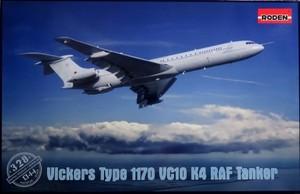 1/144 ビッカーズ・スーパー VC10-K4 空中給油機
