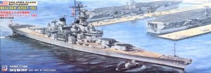 1/700 米国海軍アイオワ級戦艦 BB-62 ニュージャージー ≪1983年 近代化改装後≫