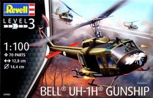 1/100 ベル UH-1H ガンシップ