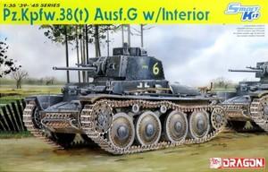 1/35 WW.II ドイツ軍 38(t) 戦車 G型 w/インテリア