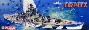 1/700 ドイツ戦艦 ティルピッツ