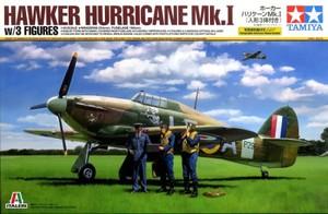 1/48 ホーカーハリケーン Mk.I (人形3体付き)