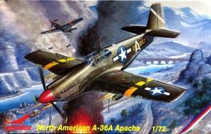 1/72 ノースアメリカン A-36A アパッチ