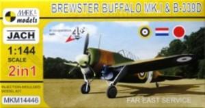 1/144 ブルースター バッファローMk.I/B-339D 「極東配備」 (2キット入)