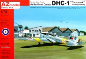 1/72 カナダ DHC-1 チップマンク T.10 ライカミングエンジン