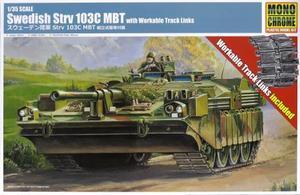 1/35 スウェーデン陸軍 Strv 103C MBT 組立式履帯付属