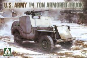1/35 米陸軍 1/4トン 装甲トラック