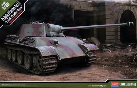1/35 パンター戦車G型 最後期生産型