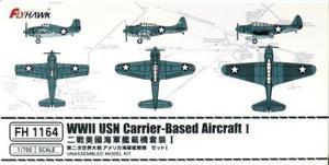 1/700 WWII アメリカ海軍 艦載機セット 1