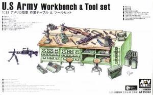 1/35 アメリカ陸軍 作業台とツールセット
