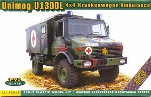 1/72 独・ウニモグU1300L野戦救急車