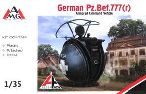 1/35 Pz.Bef 777(r) 装甲指揮オートバイ