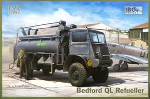 1/72 英・ベッドフォード QL 3トン4輪駆動タンクローリー