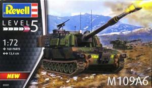 1/72 アメリカ M109A6 パラディン 自走榴弾砲