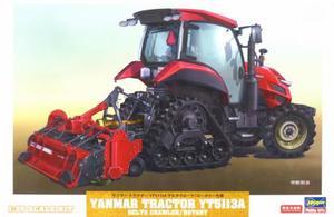 1/35 ヤンマー トラクター YT5113A デルタクローラ/ロータリー仕様