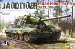 1/35 ヤークトティーガー Sd.Kfz.186 ポルシェ生産タイプ