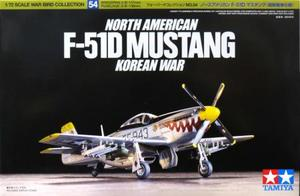 1/72 ノースアメリカン F-51D マスタング (朝鮮戦争仕様)