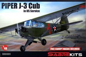 1/48 パイパー J-3 カブ 「米軍仕様」