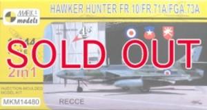 1/144 ホーカーハンターFR.10/FR.71A/FGA.73A 「偵察機」(2機入り)