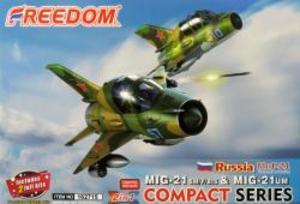 コンパクトシリーズ:MiG-21SM/F/BIS & MiG-21UM ロシア空軍