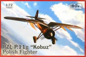 1/72 ポーランドPZL P.11G・ガル翼戦闘機コブス(隼)