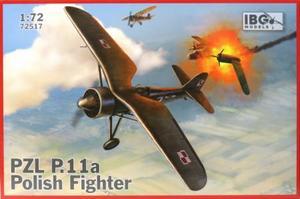 1/72 ポーランドPZL P.11A・ガル翼戦闘機
