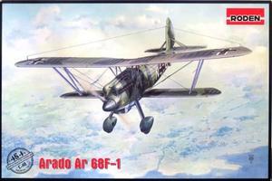 1/48 独・アラド Ar68F-1 複葉戦闘機